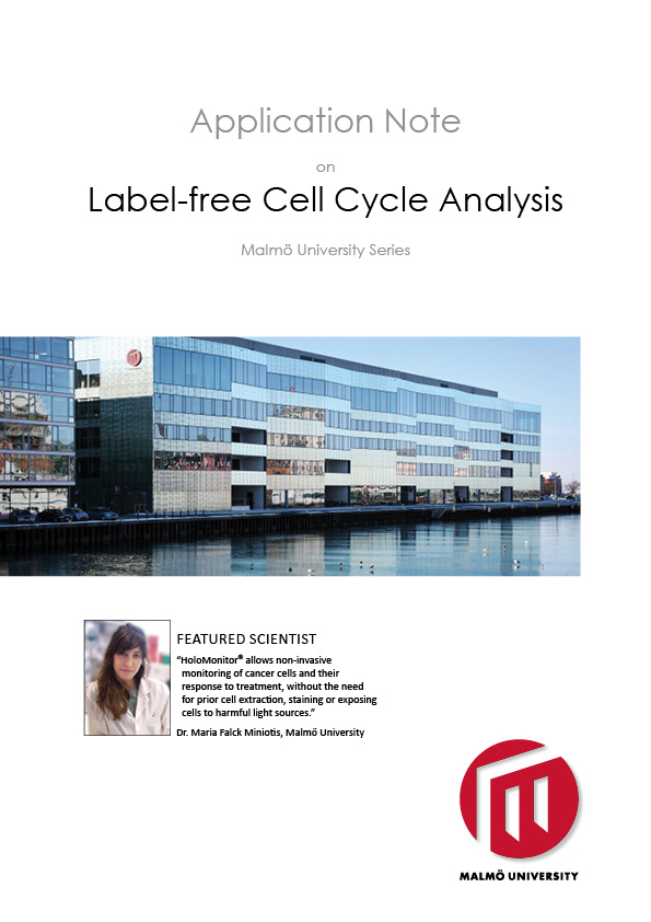 HoloMonitor Label-Free Cell Cycle Analysis