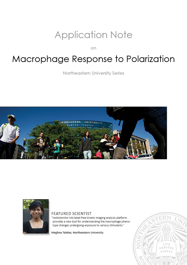 HoloMonitor Macrophage Response to Polarization
