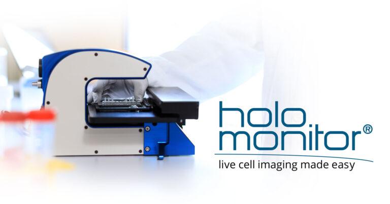 HoloMonitor M4 with logo