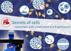 Live cell imaging webinar - secrets of cells
